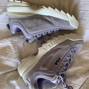 Brand new Suede Fila Disruptor